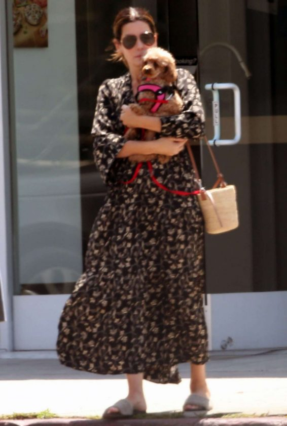 Sandra Bullock in Long Dress - Out in LA