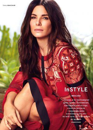 Sandra Bullock - InStyle Magazine (Russia - July 2018)