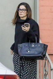 Sandra Bullock - Leaving a business meeting in Beverly Hills