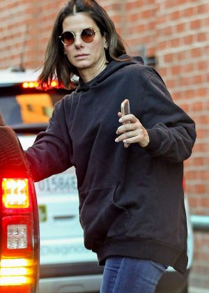Sandra Bullock - Out in Beverly Hills