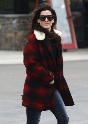 Sandra Bullock Out Shopping in Los Angeles
