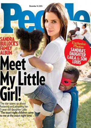 Sandra Bullock - PEOPLE Magazine Cover (December 2015)