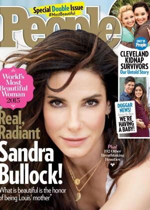 Sandra Bullock - People Magazine (May 2015)