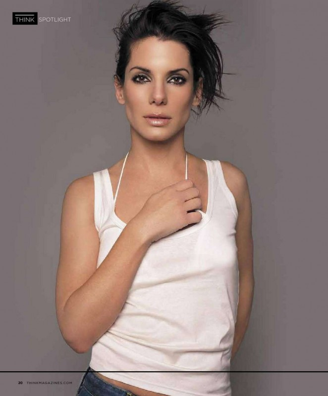 Sandra Bullock – Think Magazine (August 2015)