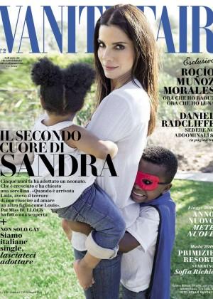 Sandra Bullock - Vanity Fair Italy Magazine (January 2016)