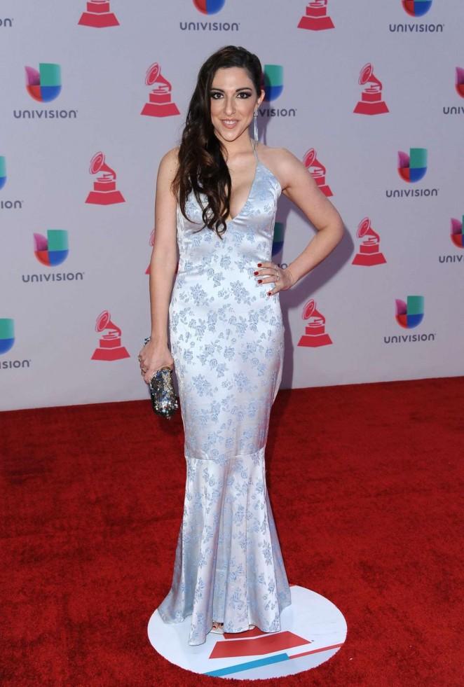 Sandra Corcuera - 2015 Latin Grammy Awards in Las Vegas