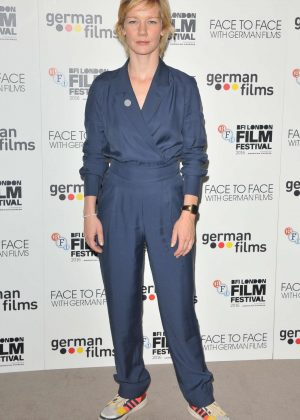 Sandra Huller - 'Face To Face With German Films' Photocall at 60th BFI London Film Festival