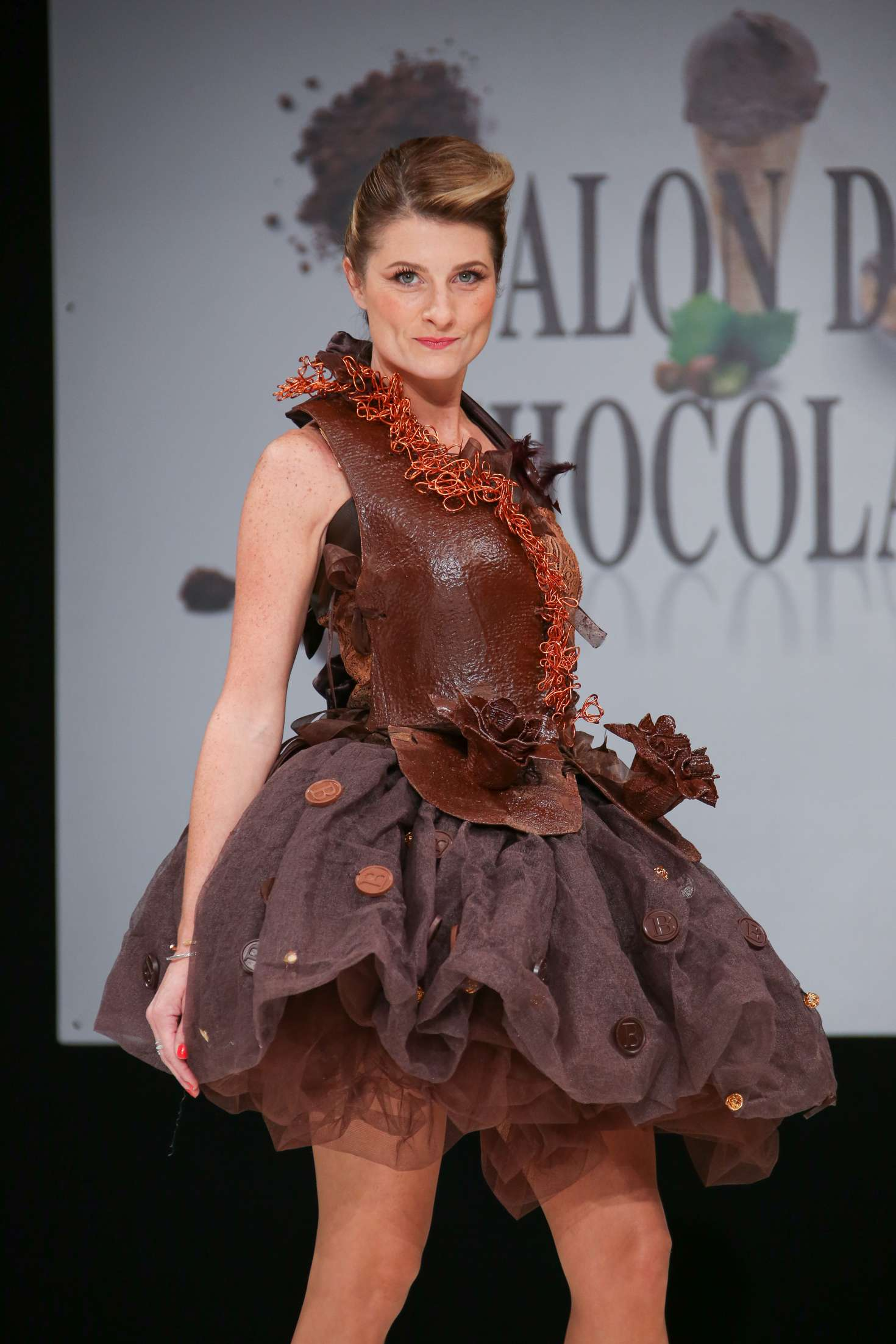Sandrine arcizet 39 salon du chocolat paris 2017 for Salon du the