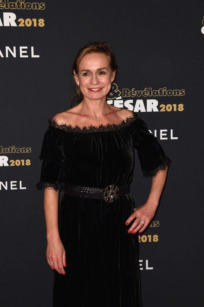 Sandrine Bonnaire - Cesar Revelations 2018 at Le Petit Palais in Paris