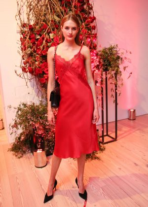 Sanne Vloet - Giorgio Armani 'Si Passione' Fragrance and Vogue Launch in NY