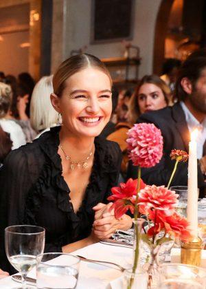 Sanne Vloet - Zimmermann Celebrates Spring 2019 Pre-Show Dinner in NY