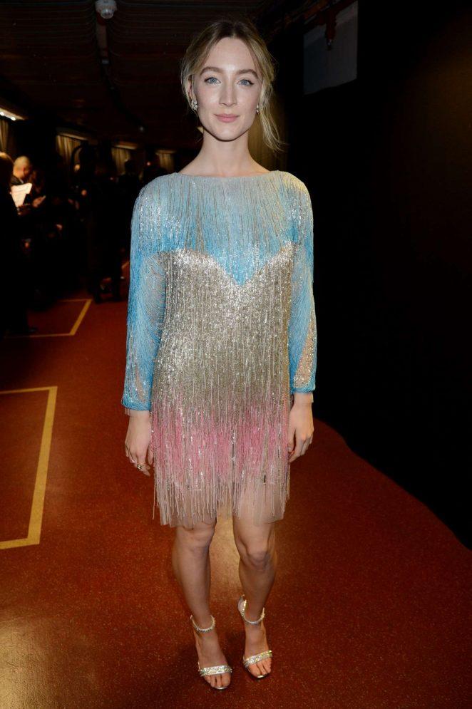 Saoirse Ronan - 2018 British Fashion Awards in London