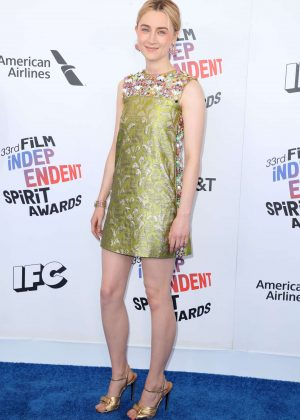 Saoirse Ronan - 2018 Film Independent Spirit Awards in Santa Monica