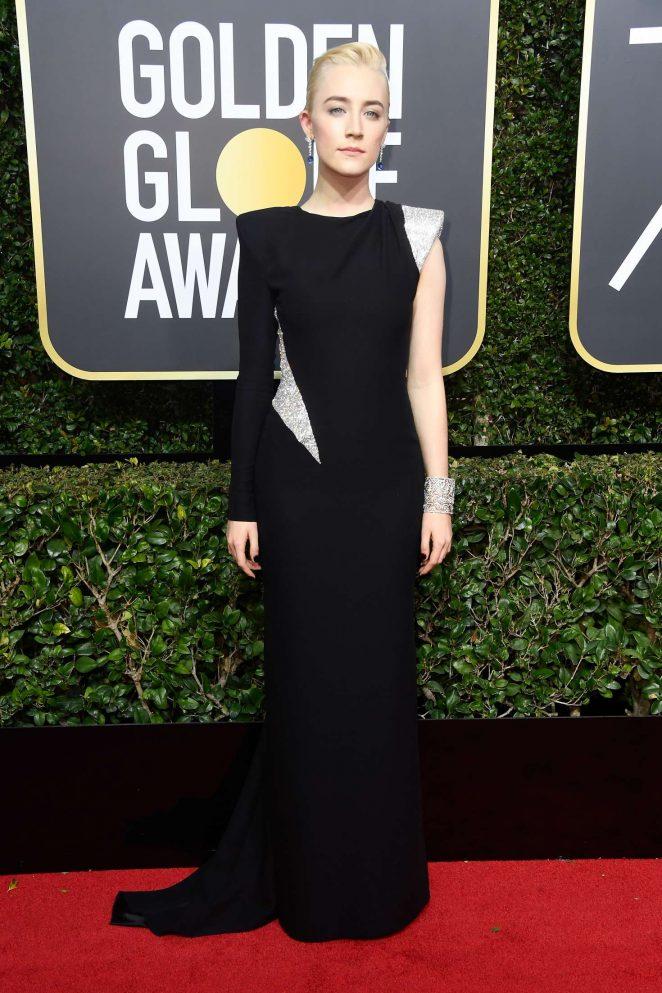 Saoirse Ronan - 2018 Golden Globe Awards in Beverly Hills