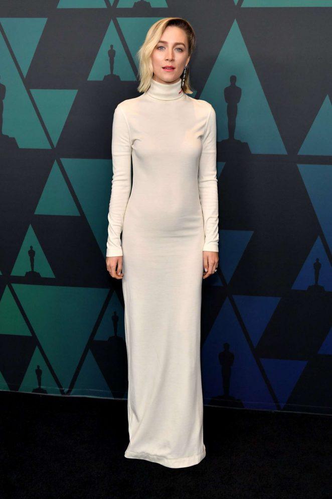 Saoirse Ronan - 2018 Governors Awards in Hollywood