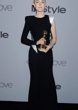 Saoirse Ronan - 2018 InStyle and Warner Bros Golden Globes After Party in LA
