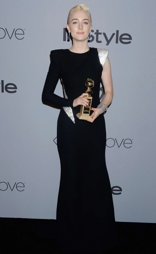 Saoirse Ronan – 2018 InStyle and Warner Bros Golden Globes After Party in LA