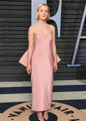 Saoirse Ronan - 2018 Vanity Fair Oscar Party in Hollywood