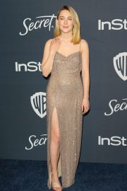 Saoirse Ronan - 2020 InStyle and Warner Bros Golden Globes Party in Beverly Hills