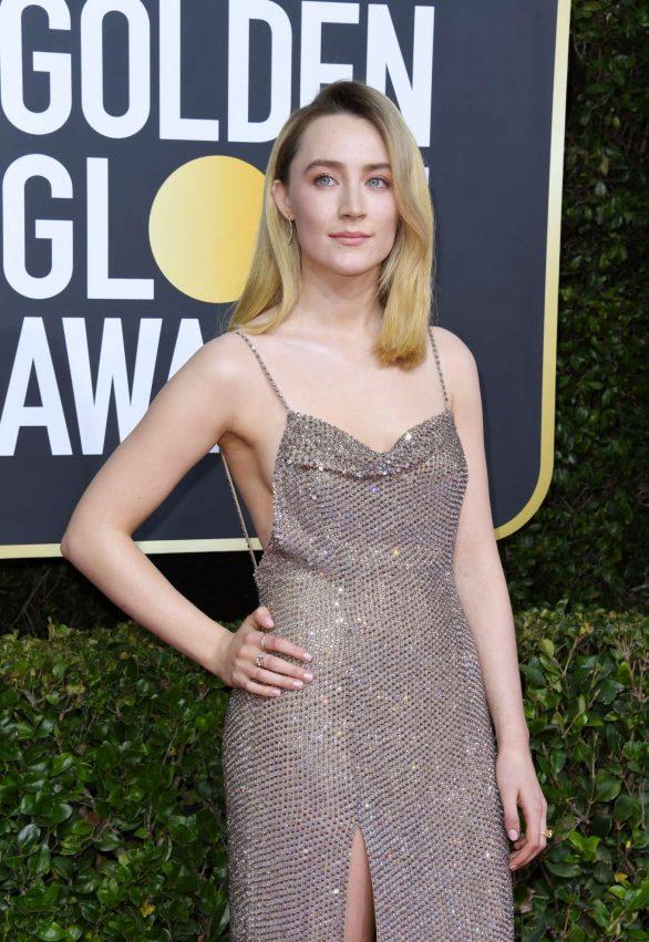 Saoirse Ronan - 2020 Golden Globe Awards in Beverly Hills
