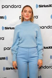 Saoirse Ronan and Florence Pugh - SiriusXM's Town Hall With 'Little Women' in NYC
