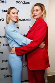 Saoirse Ronan and Florence Pugh - SiriusXM' Town Hall With Little Women in NYC