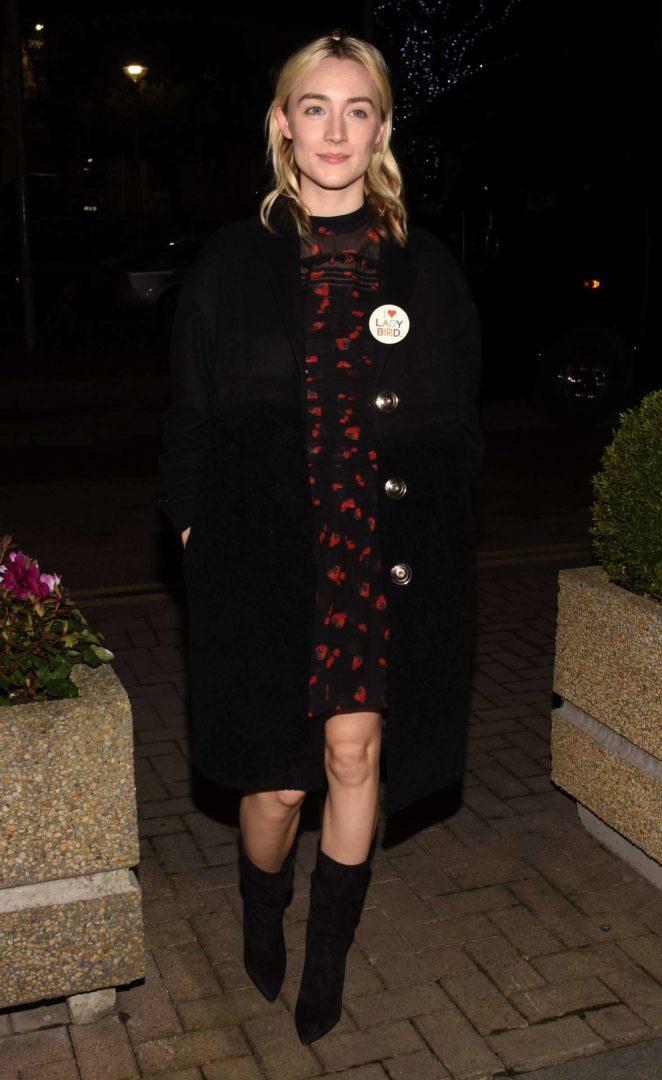Saoirse Ronan - Appears on 'The Late Late Show' in Dublin