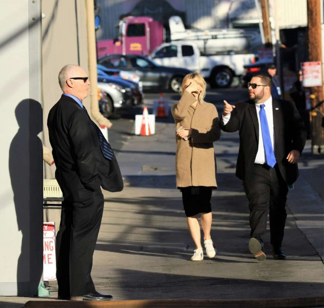 Saoirse Ronan: Arriving at Jimmy Kimmel Live -11