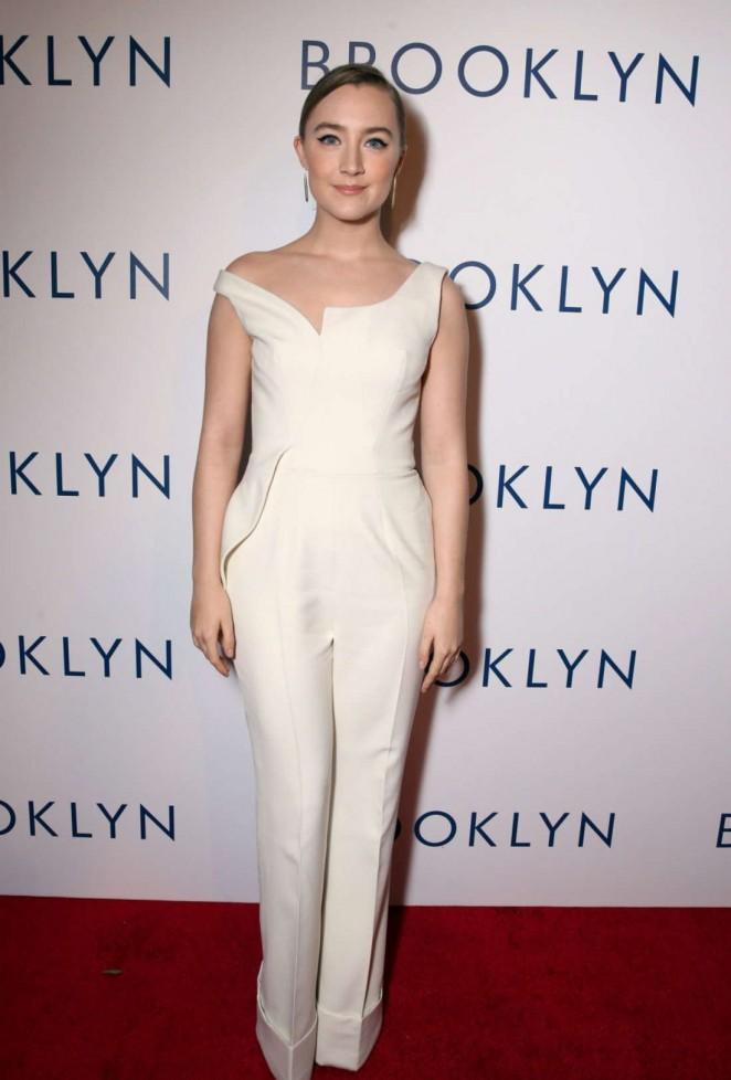 Saoirse Ronan - 'Brooklyn' Premiere in Los Angeles