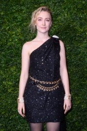 Saoirse Ronan - Charles Finch and Chanel Pre-BAFTA Party in London