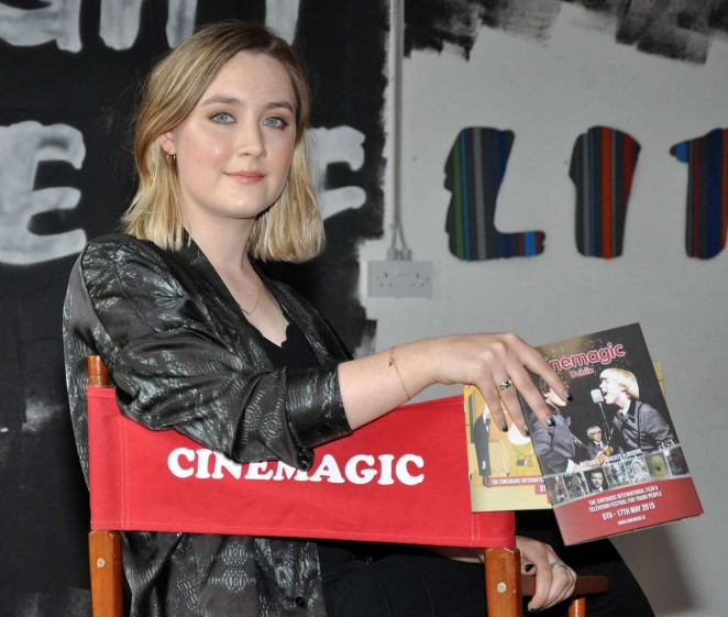 Saoirse Ronan - Cinemagic Film And Television Festival For Young People in Dublin