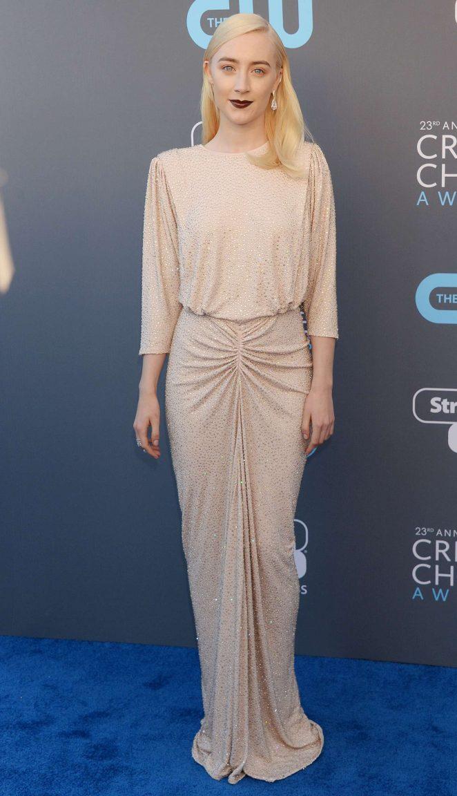 Saoirse Ronan - Critics' Choice Awards 2018 in Santa Monica