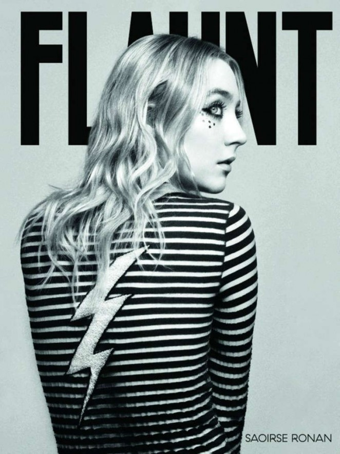 Saoirse Ronan - Flaunt Photoshoot (April 2016)