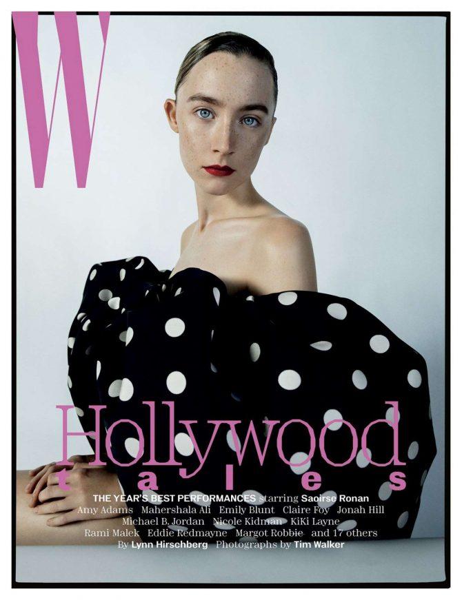 Saoirse Ronan for W Magazine 2019