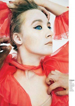 Saoirse Ronan - Gioia Magazine (January 2018)