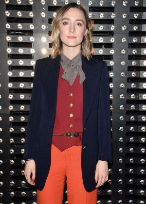 Saoirse Ronan - Gucci Fashion Show in Milan