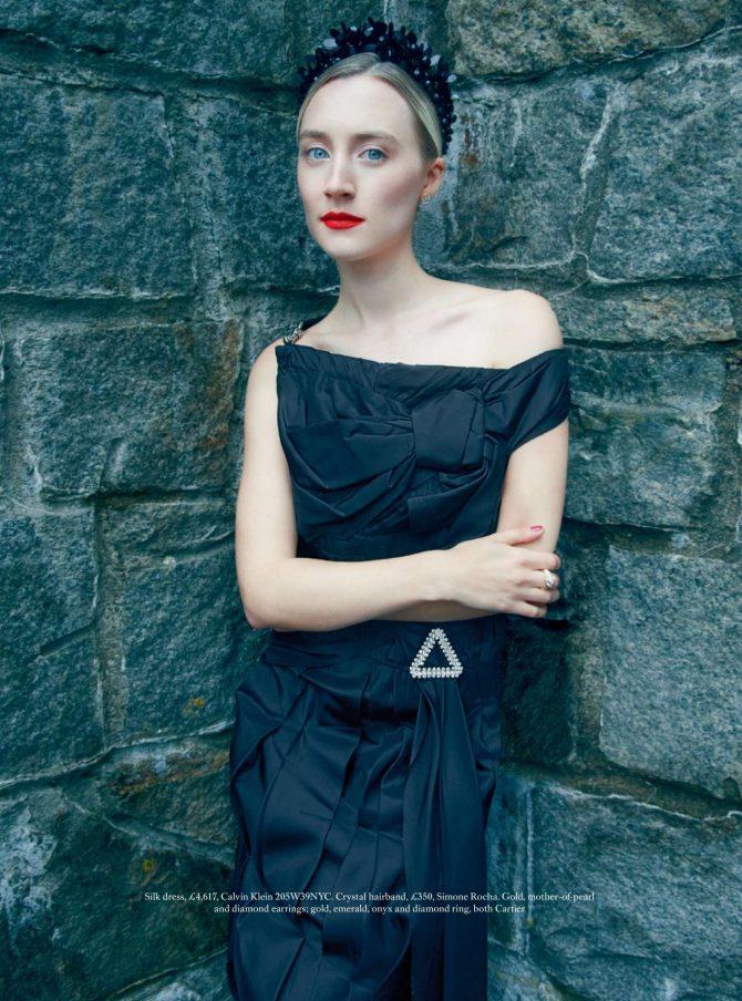 Saoirse Ronan – Harper's Bazaar UK Magazine (February 2019)