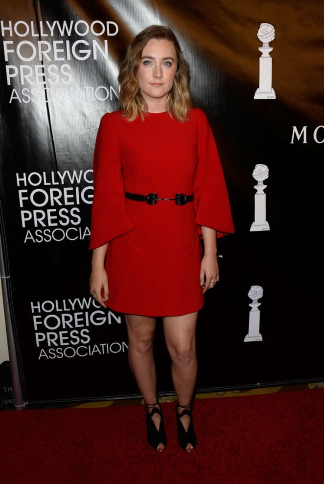 Saoirse Ronan - 2015 HFPA Hosts Annual Grants Banquet in NYC