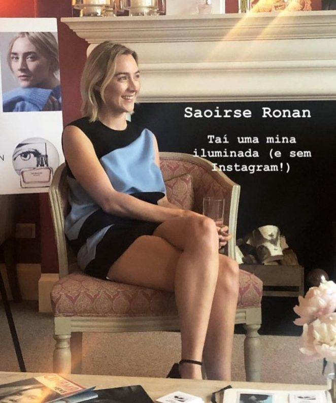 Saoirse Ronan - Interview for Calvin Klein Women in NYC