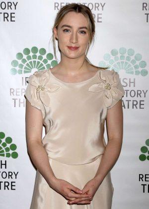 Saoirse Ronan - Irish Repertory Theatre Gala Benefit in New York City