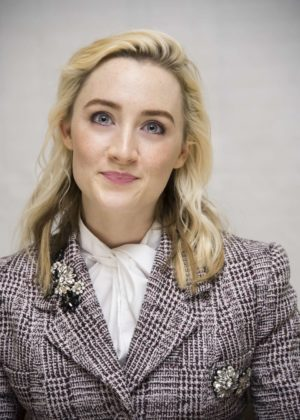 Saoirse Ronan - 'Lady Bird' Press Conference in Beverly Hills