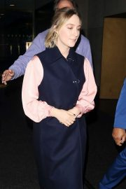 Saoirse Ronan - Leaving the Today Show in New York City