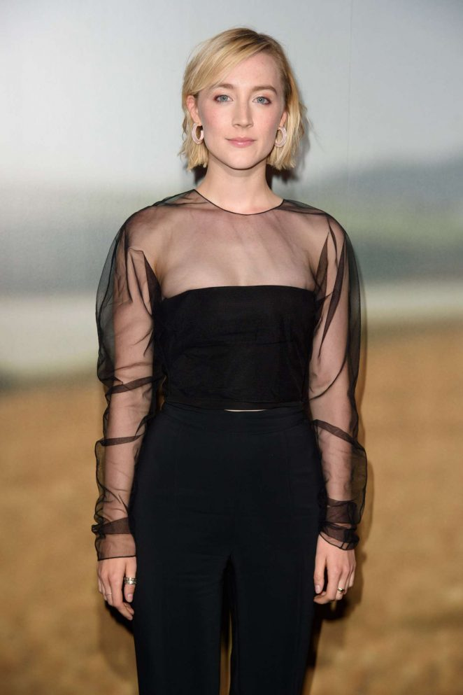 Saoirse Ronan - 'On Chesil Beach' Special Screening in London