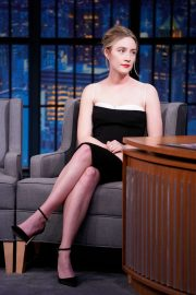 Saoirse Ronan - On 'Late Night with Seth Meyers' in New York City