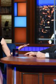 Saoirse Ronan - On The Late Show with Stephen Colbert in NYC