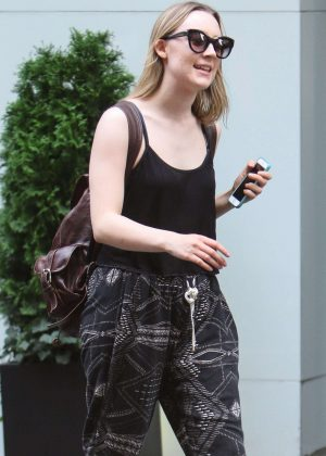 Saoirse Ronan - Out and about in Manhattan