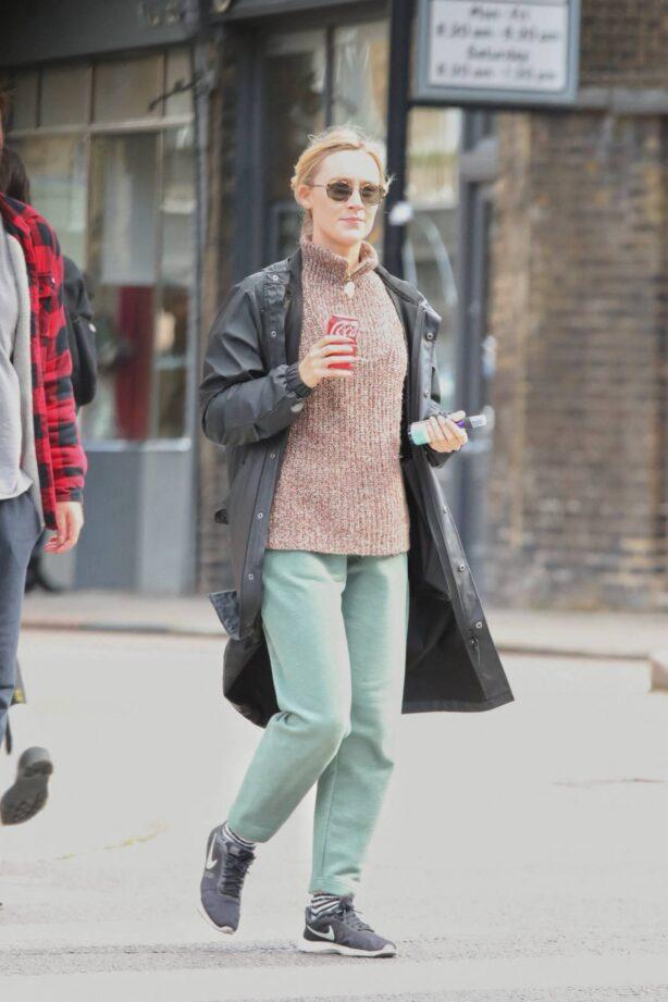 Saoirse Ronan - out in London