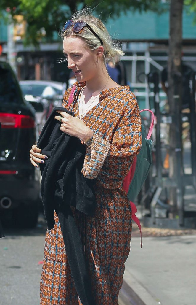 Saoirse Ronan out in New York City -07