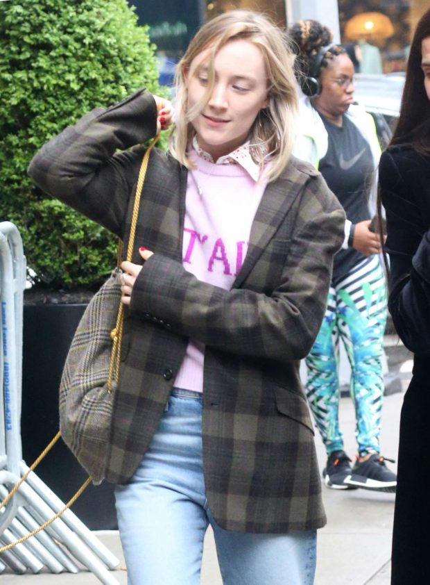 Saoirse Ronan - Out in New York