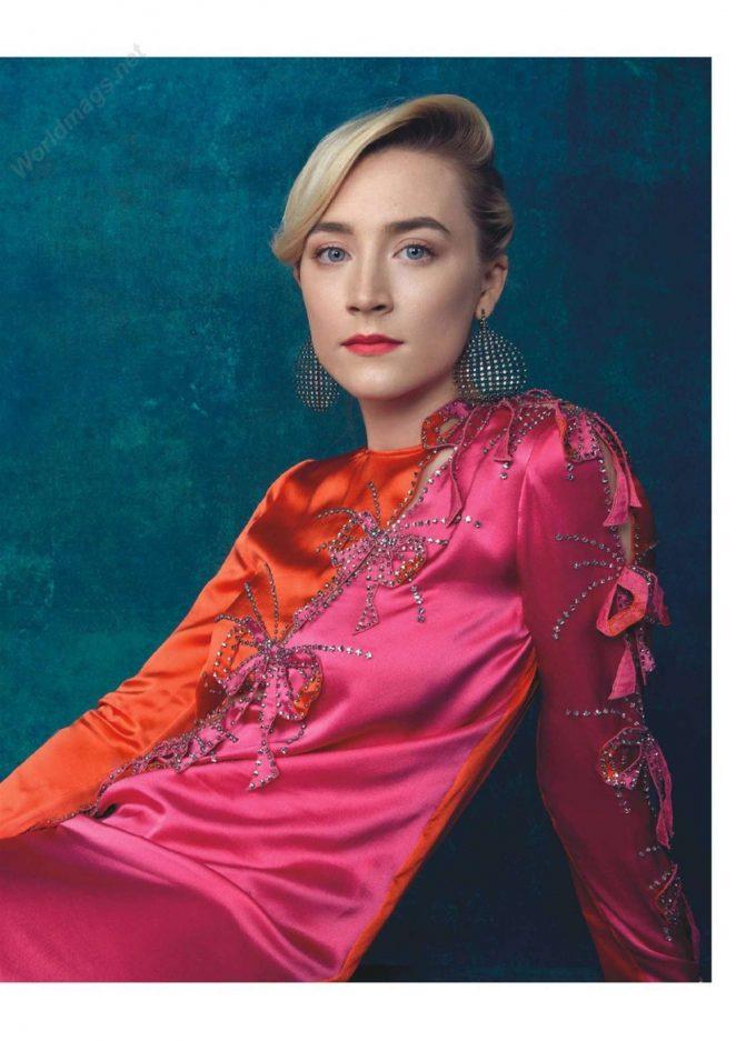 Saoirse Ronan - Psychologies Magazine (UK January 2019 issue)